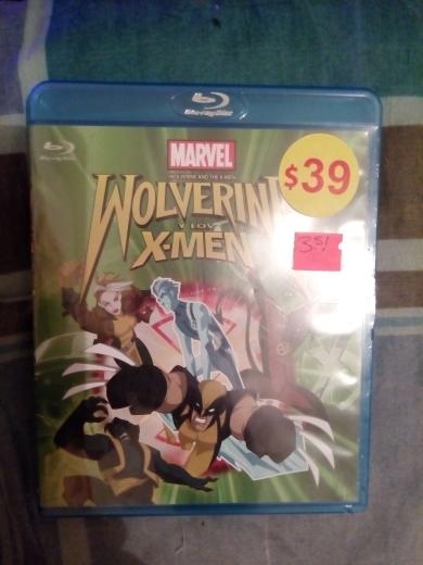 Walmart: Wolverine y Los X-Men Blu-Ray y otros titulos