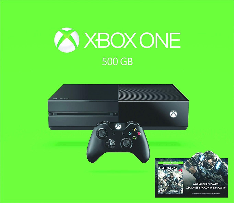 Amazon: Xbox One con FIFA 17, Gears of War 4 o elige tu juego $4,742 con Banorte