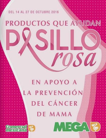 Comercial Mexicana: Folleto Pasillo Rosa del 14 al 27 de Octubre