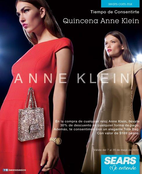 Sears: 30% de descuento en relojes Anne Klein y bolsa de regalo