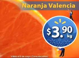 Martes de Frescura en Walmart mayo 8: naranja $3.90, manzana $16.40 y más