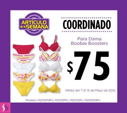 Artículo de la semana en Suburbia: coordinado de dama a $75