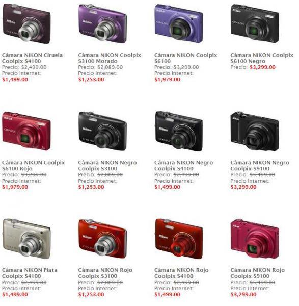 Sanborns: 40% de descuentos en selección de cámaras Nikon