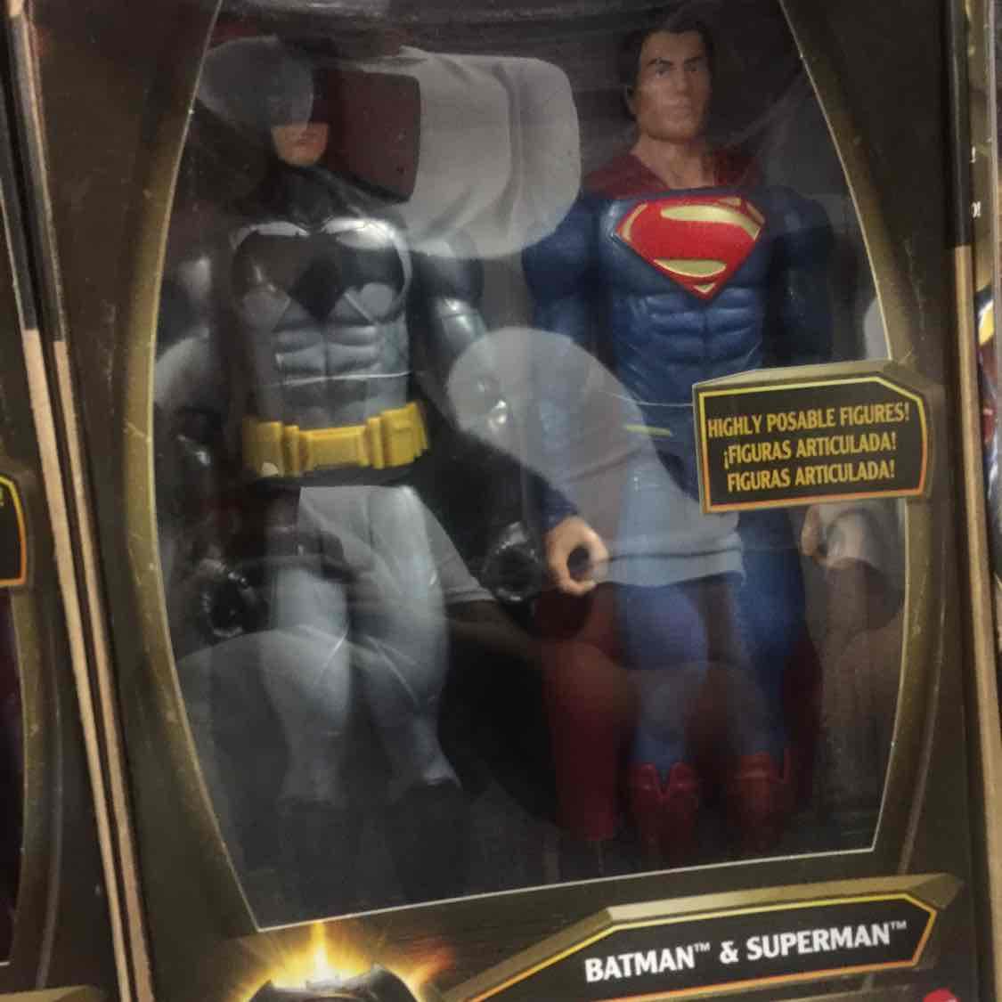 Walmart: Batman y Superman Mattel a $179