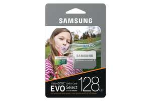 Amazon: Samsung EVO Select Micro SDXC Memory Card, 128GB, 80MB/s (MB-ME128DA/AM)