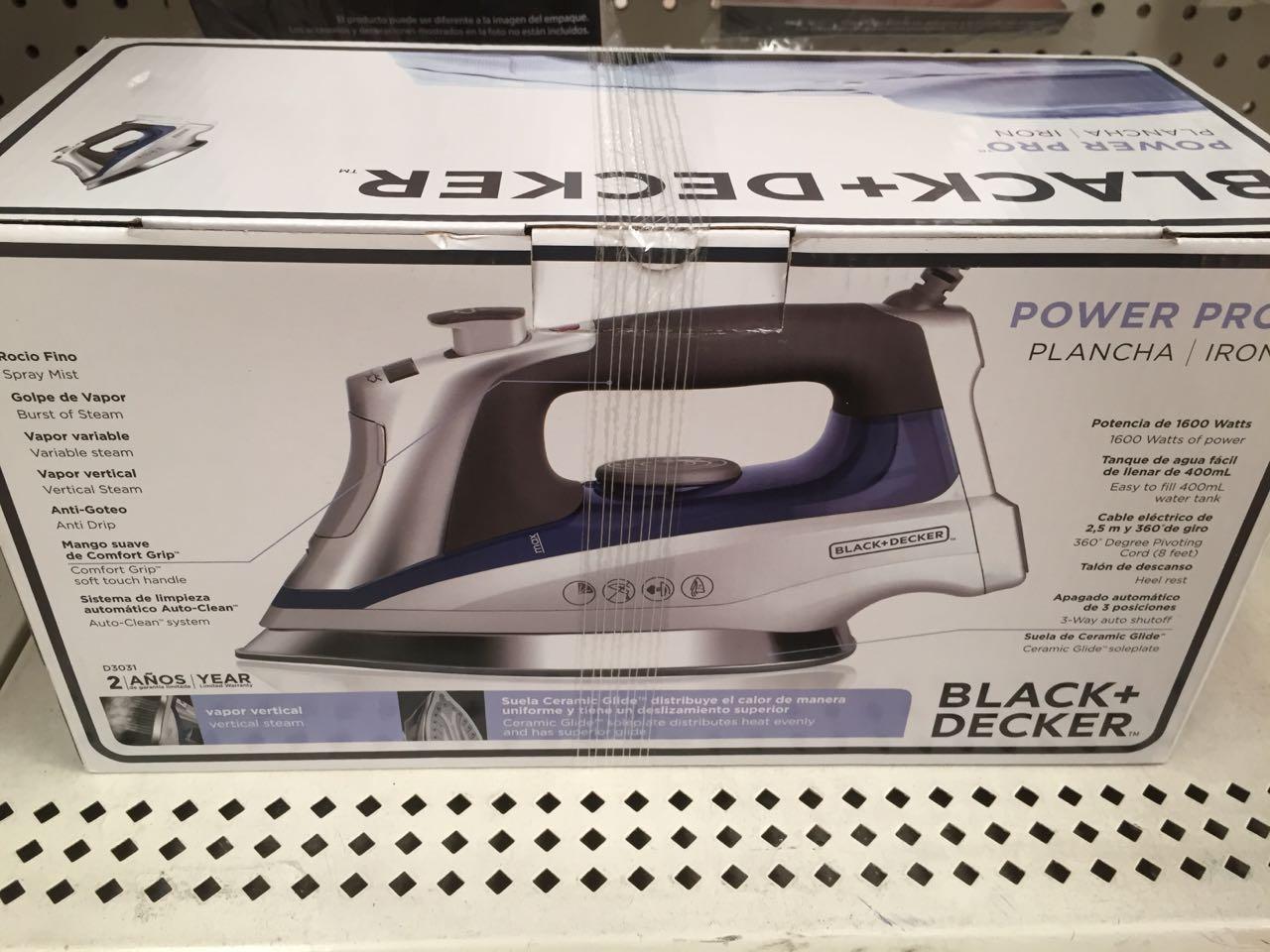 Walmart Reforma: plancha Black + Decker a $395.01