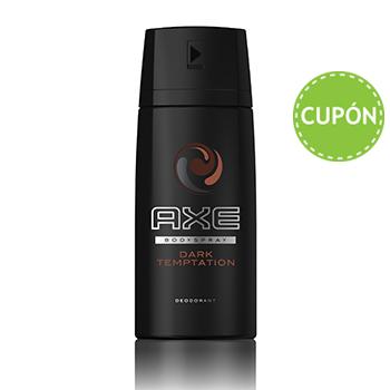 Costco: Paquete 5 desodorantes axe dark temptation de 96 gr.