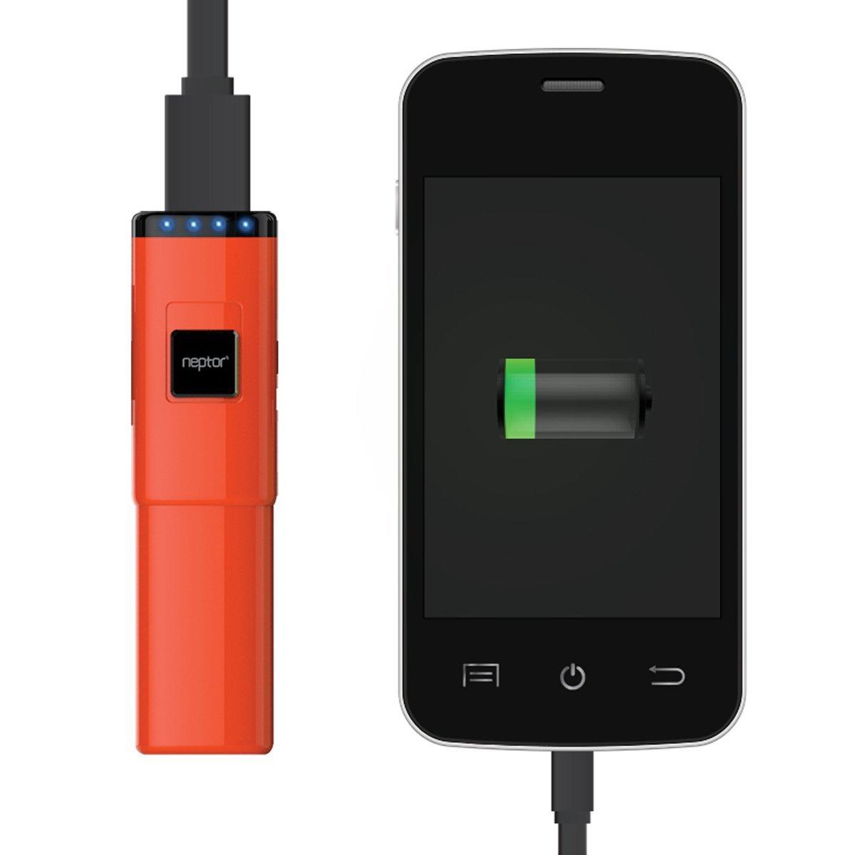 Amazon: Batería externa Neptor 2800mAh y 5600mAh para celular y tablet