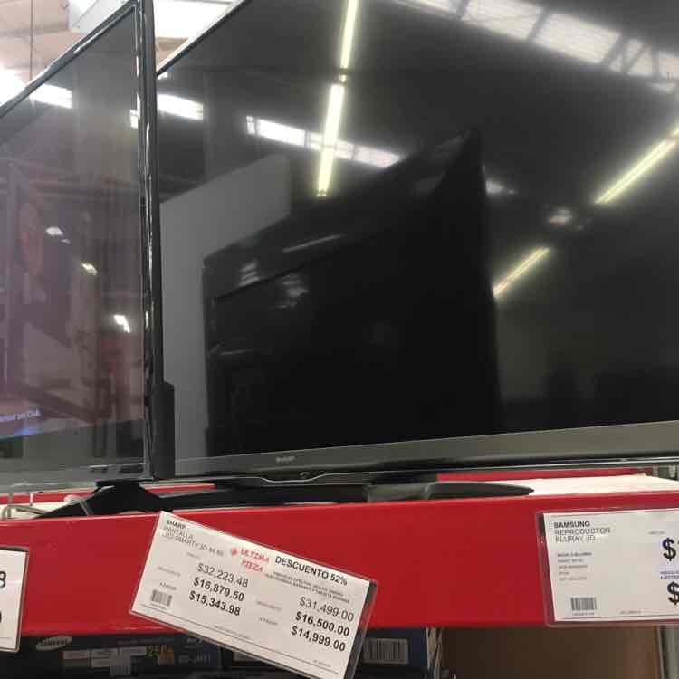 """City Club: TV SHARP 4K LED 3D 60"""""""