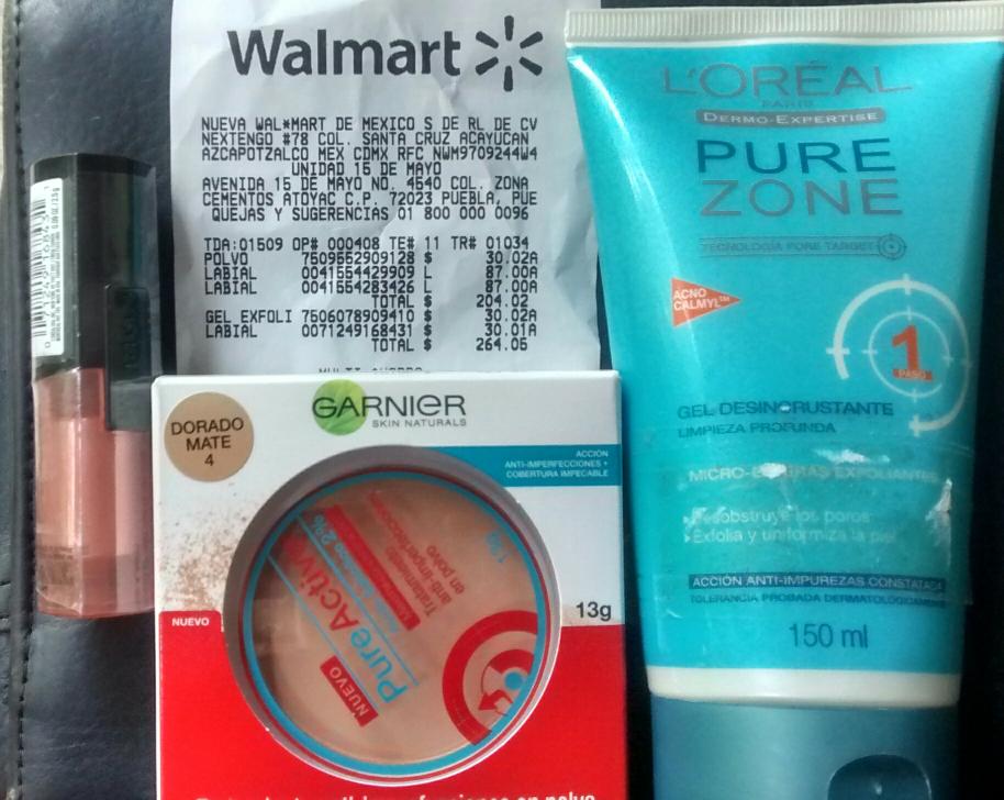 """Walmart 15 de Mayo: labial, polvo y gel de limpieza en liquidación, ejemplo Labial Loreal Infallible tono """"perpetual peach"""" $30.01"""