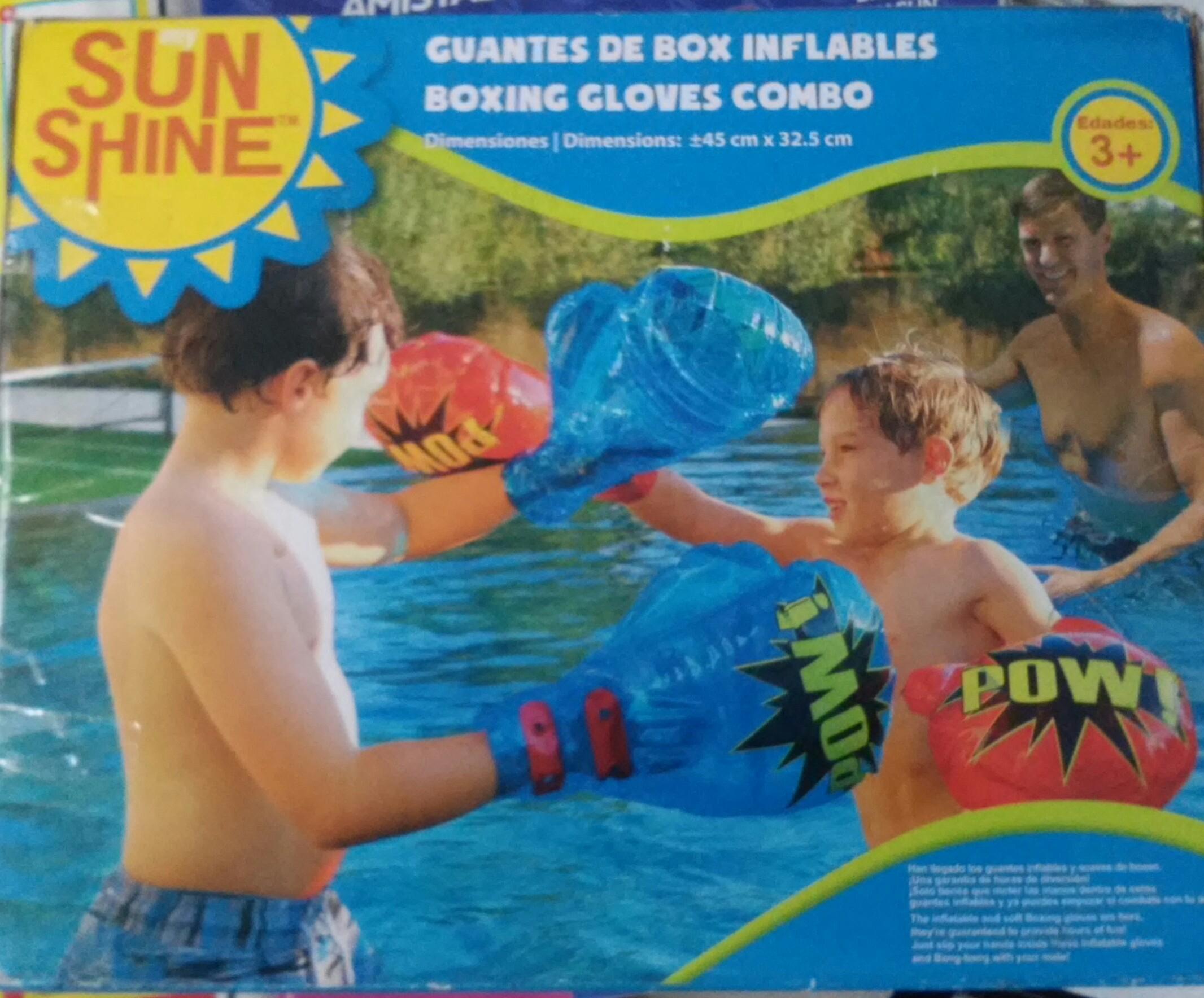 Walmart Cuitlahuac: Ultima liquidacion SunShine Guantes de Box Inflables