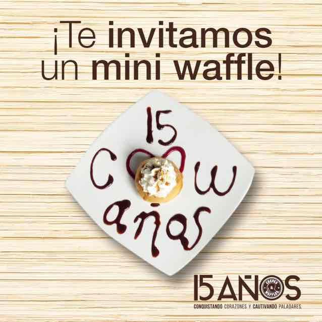 Crepes & Waffles: Mini Waffle gratis