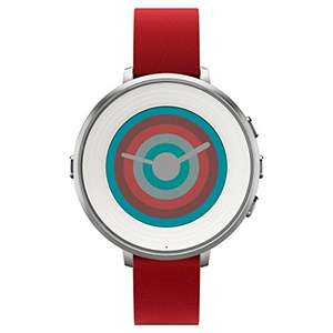 Amazon EEUU: Smartwatch Pebble time round correa roja de 14 mm