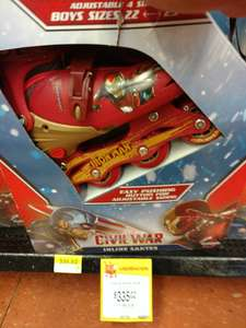 Walmart Comalcalco: Patines Iron Man, Civil War