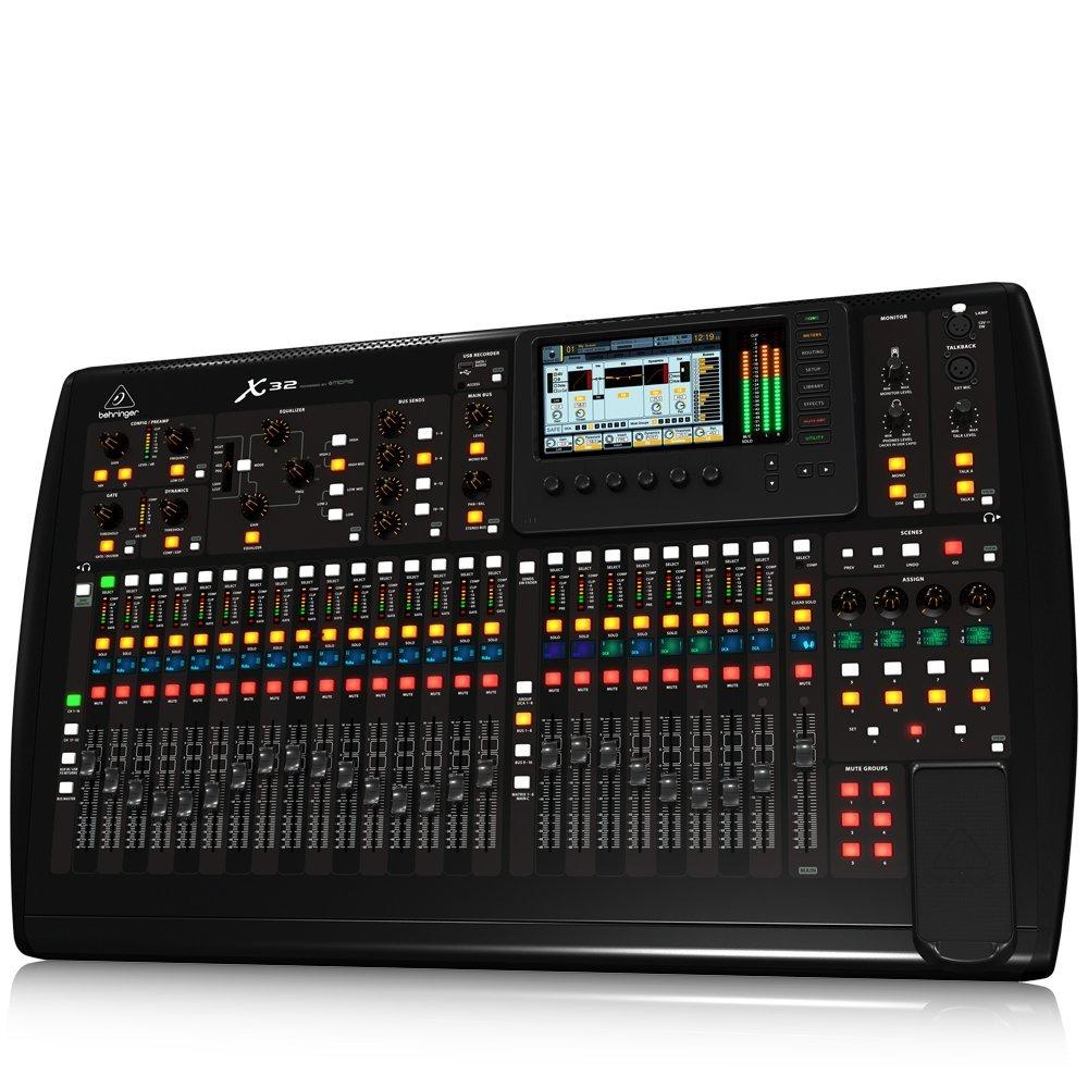 Amazon: Behringer X32 - Mezcladora Superficie de Control para Estudio Profesional o En Vivo (vendido por un tercero)