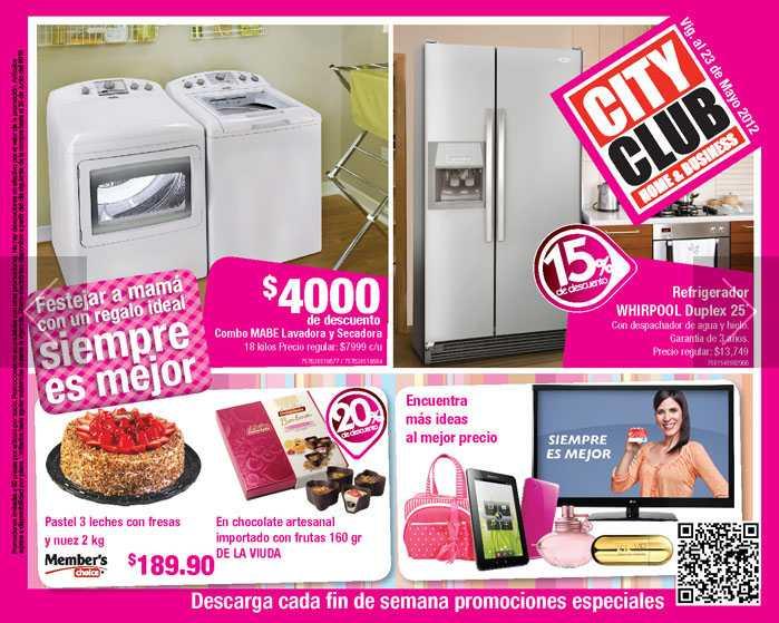 Chequera City Club mayo: $100 de descuento en fragancias, 20% en recámaras y colchones y más