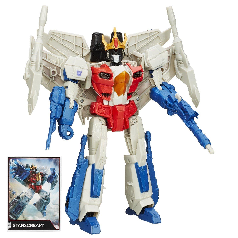 Amazon.com.mx y Walmart.com.mx Transformers Combiner Wars Leader Starscream