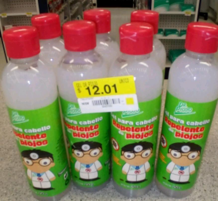 Walmart Alijadores: Gel repelente de piojos a $12.01