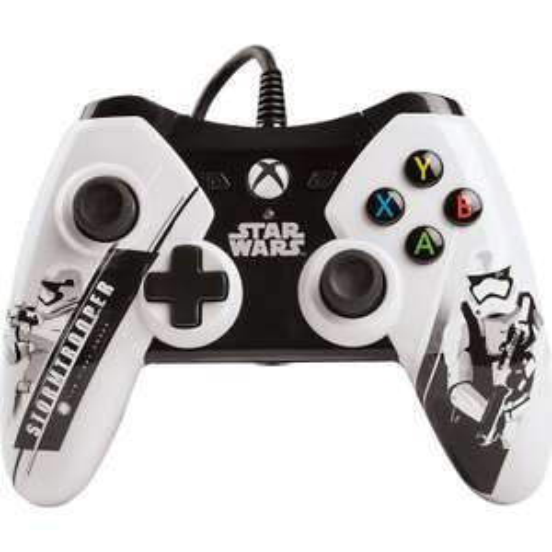 Amazon México: Control Alámbrico Xbox One Star Wars, blanco desde $394.17