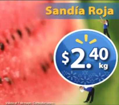 Martes de Frescura en Walmart mayo 1: sandía $2.40, jitomate $4.40 y más