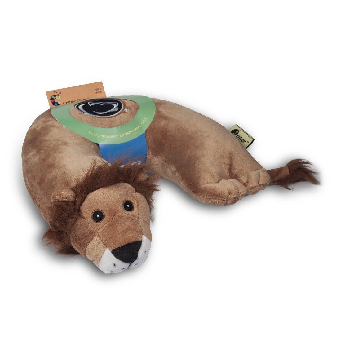 Amazon: almohada de viaje para niños Critter Piller NCAA