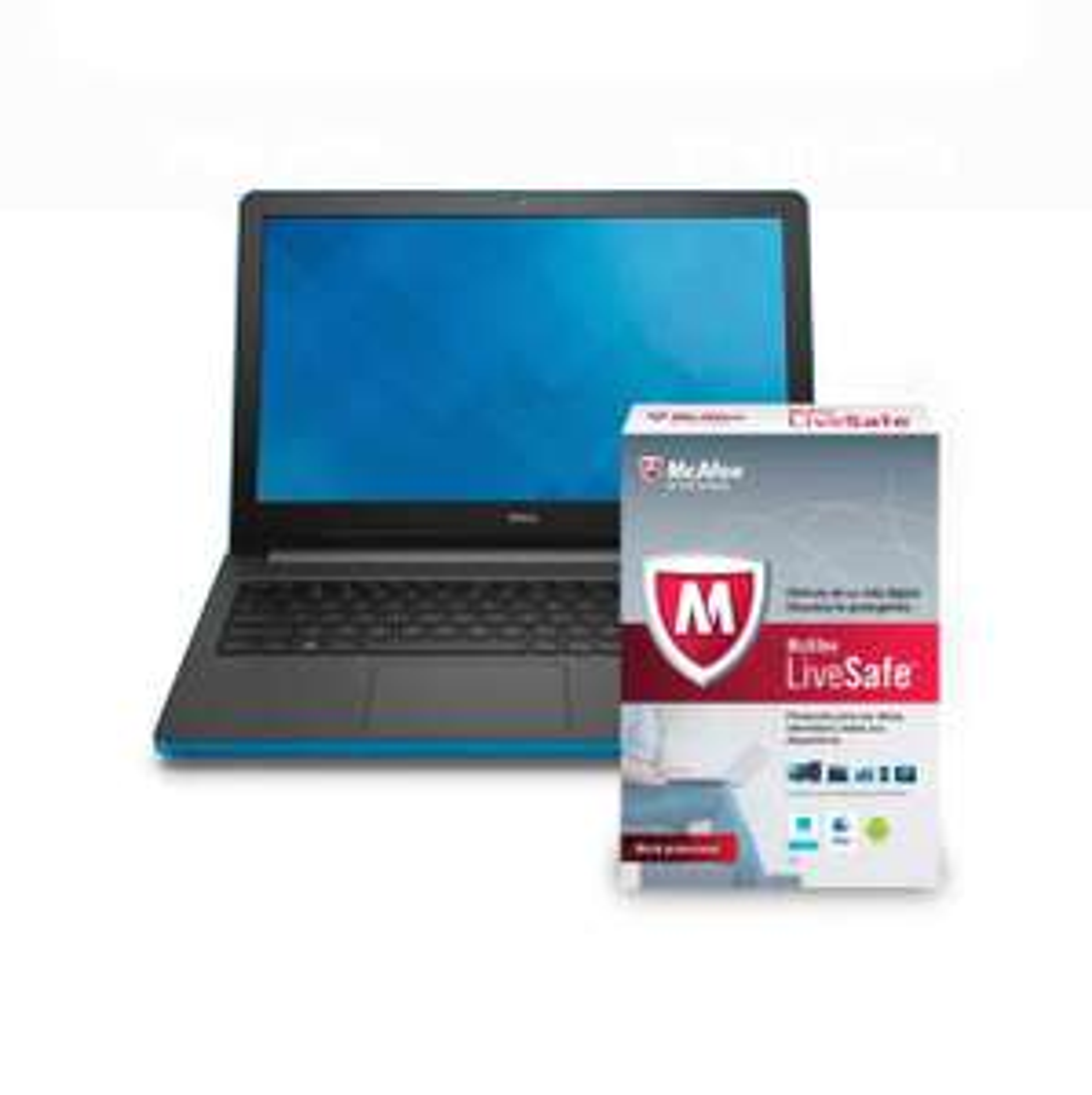 Walmart en línea: Laptop Dell Inspiron 15-5558 Core i7 6 GB RAM 1TB mas Mcafee