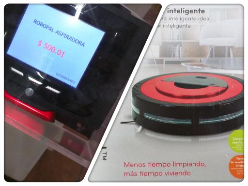 Walmart, Guadalupe, Gdl Jalisco: Robopal Aspiradora a $500.01