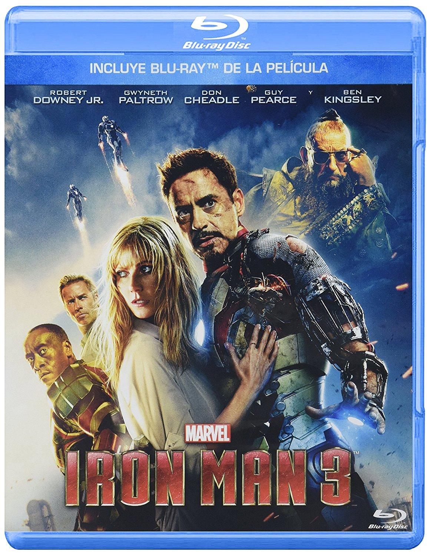 Amazon México: Blu-ray Iron Man 3 a $92.70