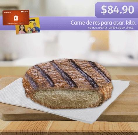 Soriana Híper y Súper: Recompensa Sábado 22 Octubre: Carne de res para asar $84.90 kg.