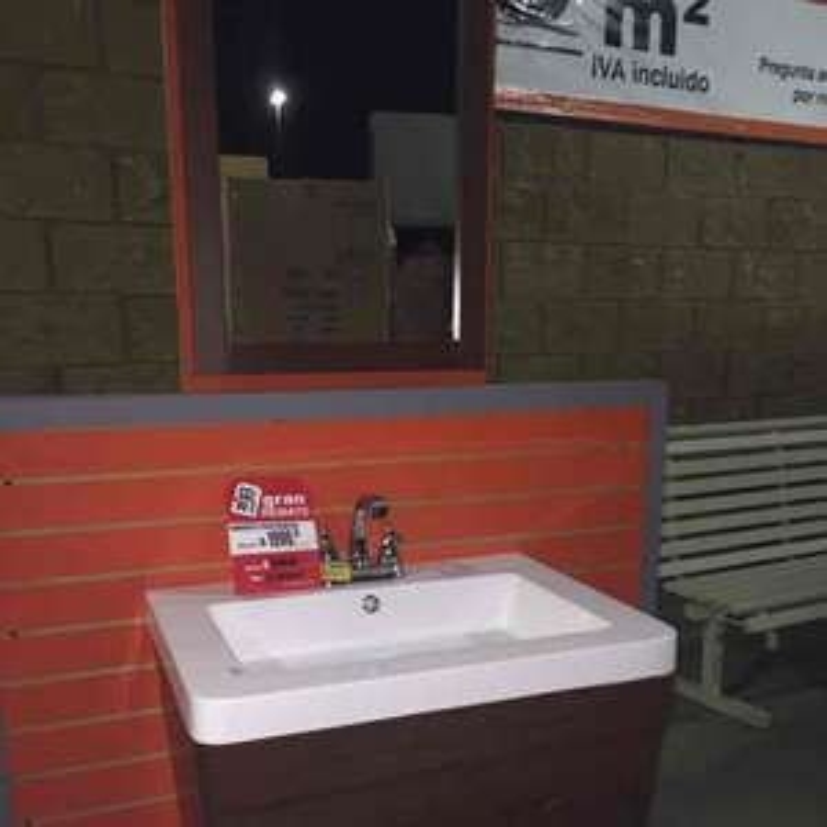 Home Depot Oaxaca: Gabinete de 2 piezas de $4,500 a $1,999