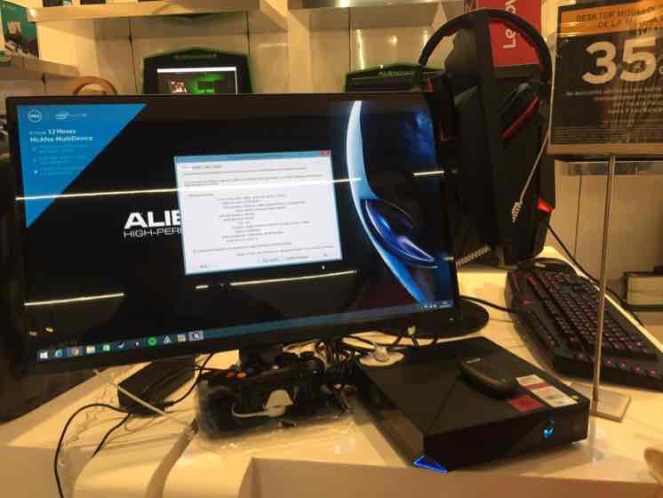 Palacio de Hierro Polanco: Alienware $9,099