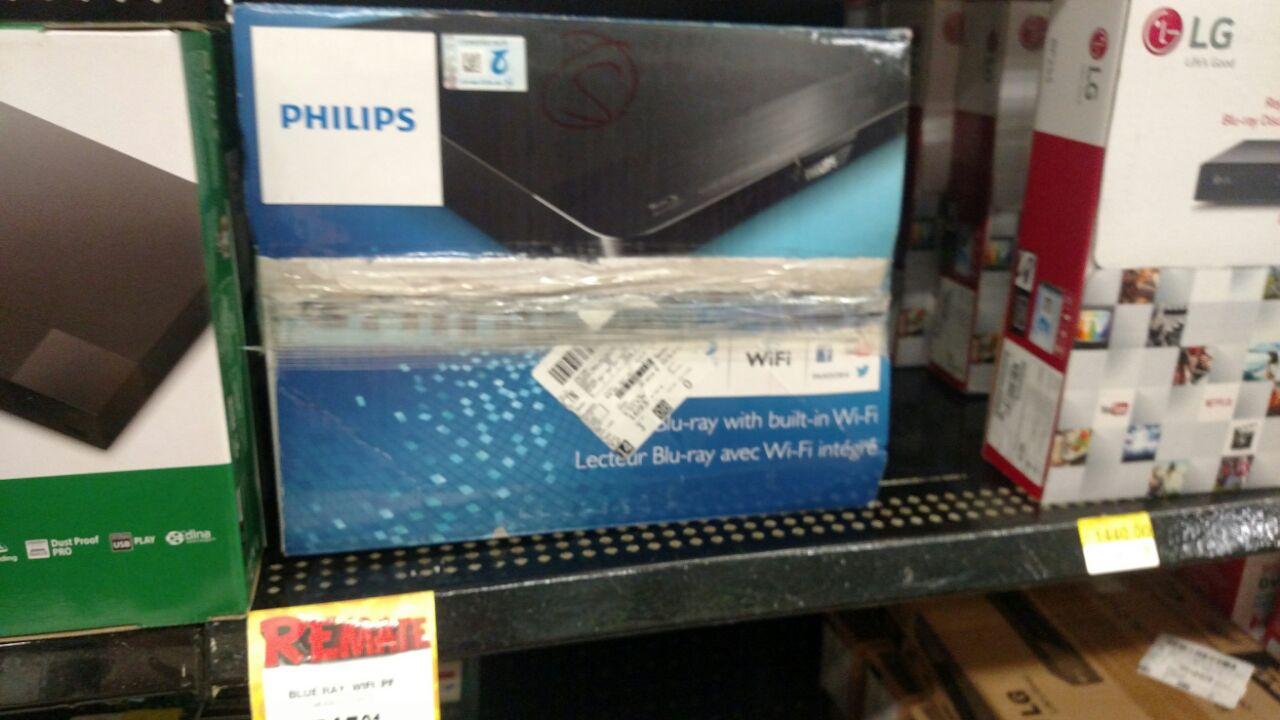 Bodega Aurrerá Jalpa de Méndez: Blu-ray Wifi Phillips $745.01 y más artículos en liquidación