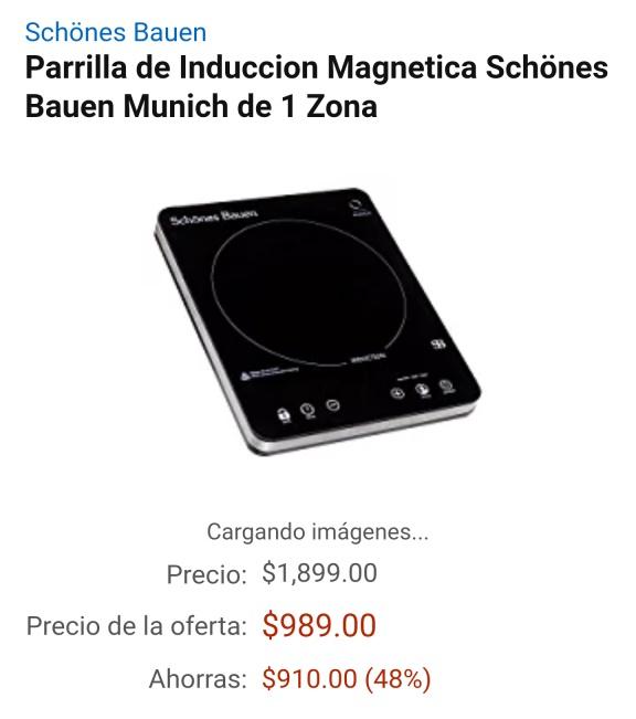Amazon México: Parrilla de Induccion Magnetica Schönes Bauen Munich