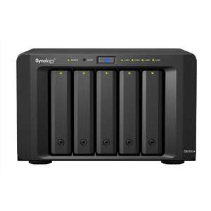 "Amazon: Synology DS1513+ Servidor NAS/Almacenamiento, RAID, DDR3, Serial ATA II, 2.5""/3.5, color Negro"