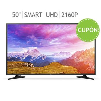 """Costco: Pantalla LG 50"""" 4K Smart TV Modelo 50UH5500"""