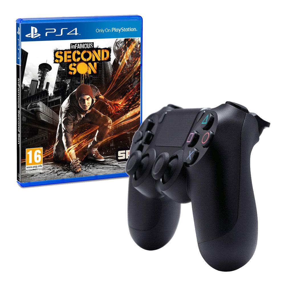 Walmart: Control PS4 + Infamous Second Son
