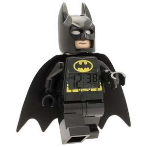 Amazon: LEGO Reloj Despertador Batman $469