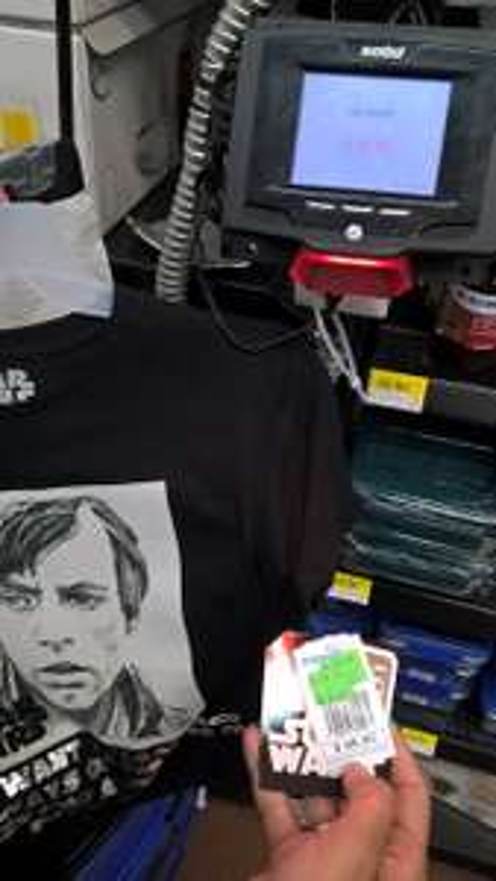 Walmart Ixtapaluca: Playeras Star Wars a $30.01