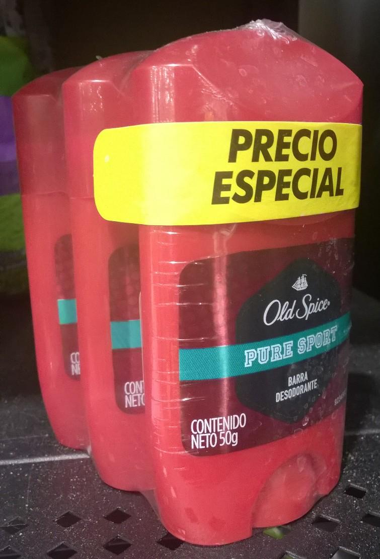 Chedraui Mérida: 3 desodorantes Old Spice a $43.50