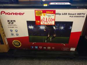 "Walmart Plaza Ciudadela: Smart Tv Pioneer 55"" a $8,499"