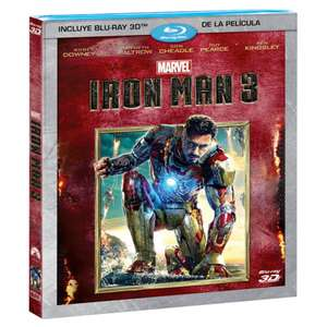 Palacio de Hierro: Iron Man 3 Bluray 3D
