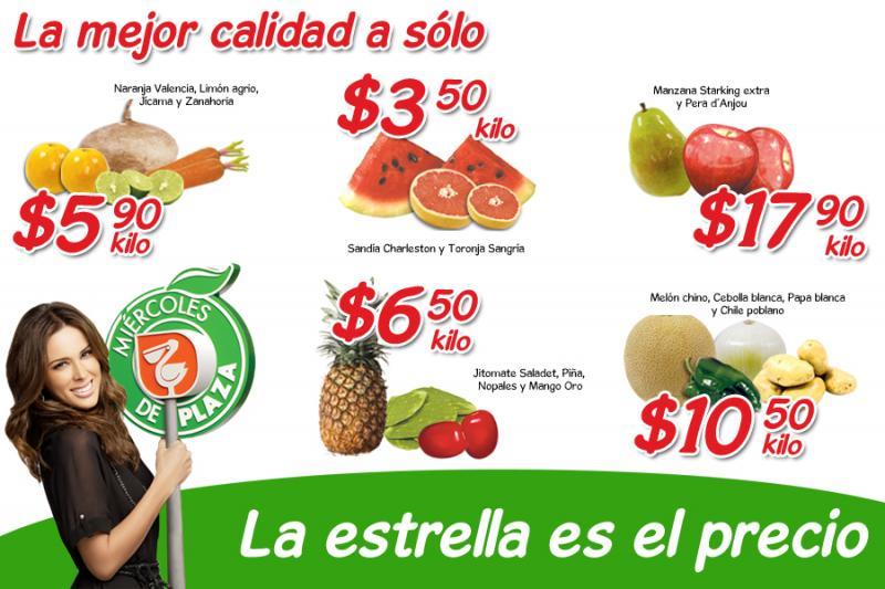 Miércoles de Plaza en La Comer abril 25: mango $6.50 Kg, sandía $3.50 Kg y más
