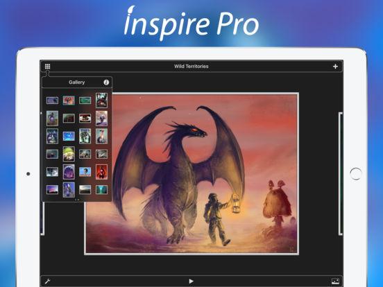 App Store: Inspire Pro- Crea Arte, Pinturas, Dibujos y Sketches