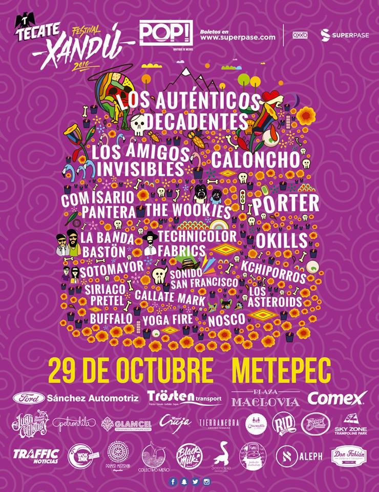 Boletos Gratis para festival Xandu en Metepec, Estado de México (se necesita auto Ford)