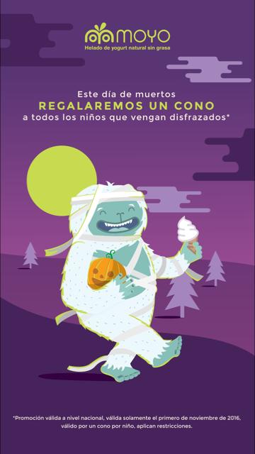Moyo: HOY Cono GRATIS ( 1° de Noviembre )