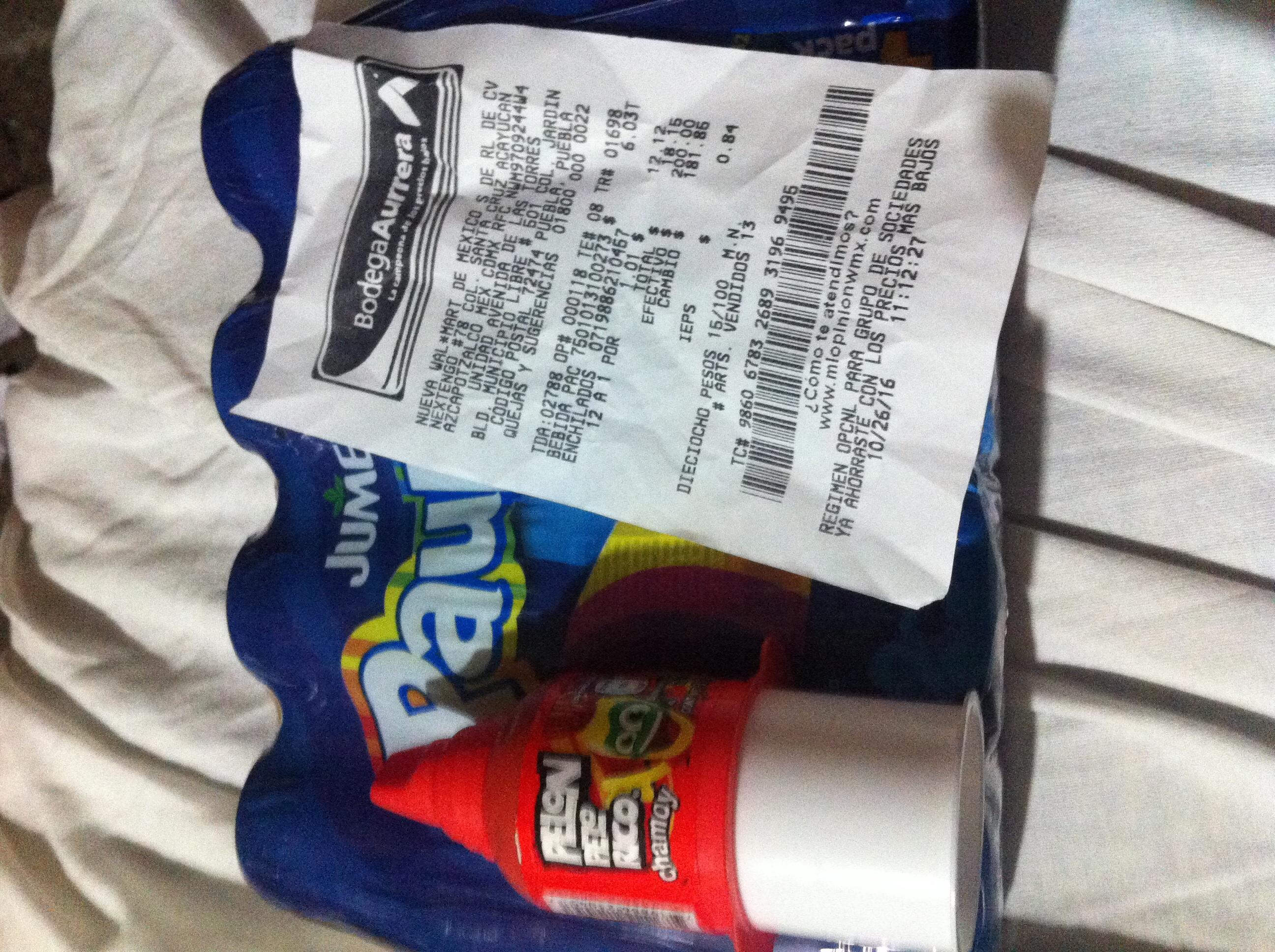 Bodega Aurrerá: Pelón Pelo Rico a $1.01, paquete de 4 Jumex Pau Pau a $6.03