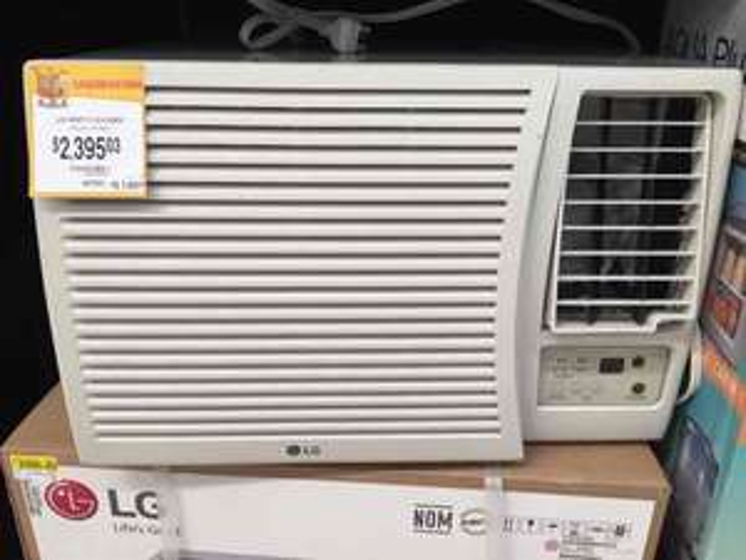 Walmart Galvan Colima: Aire acondicionado LG 220V