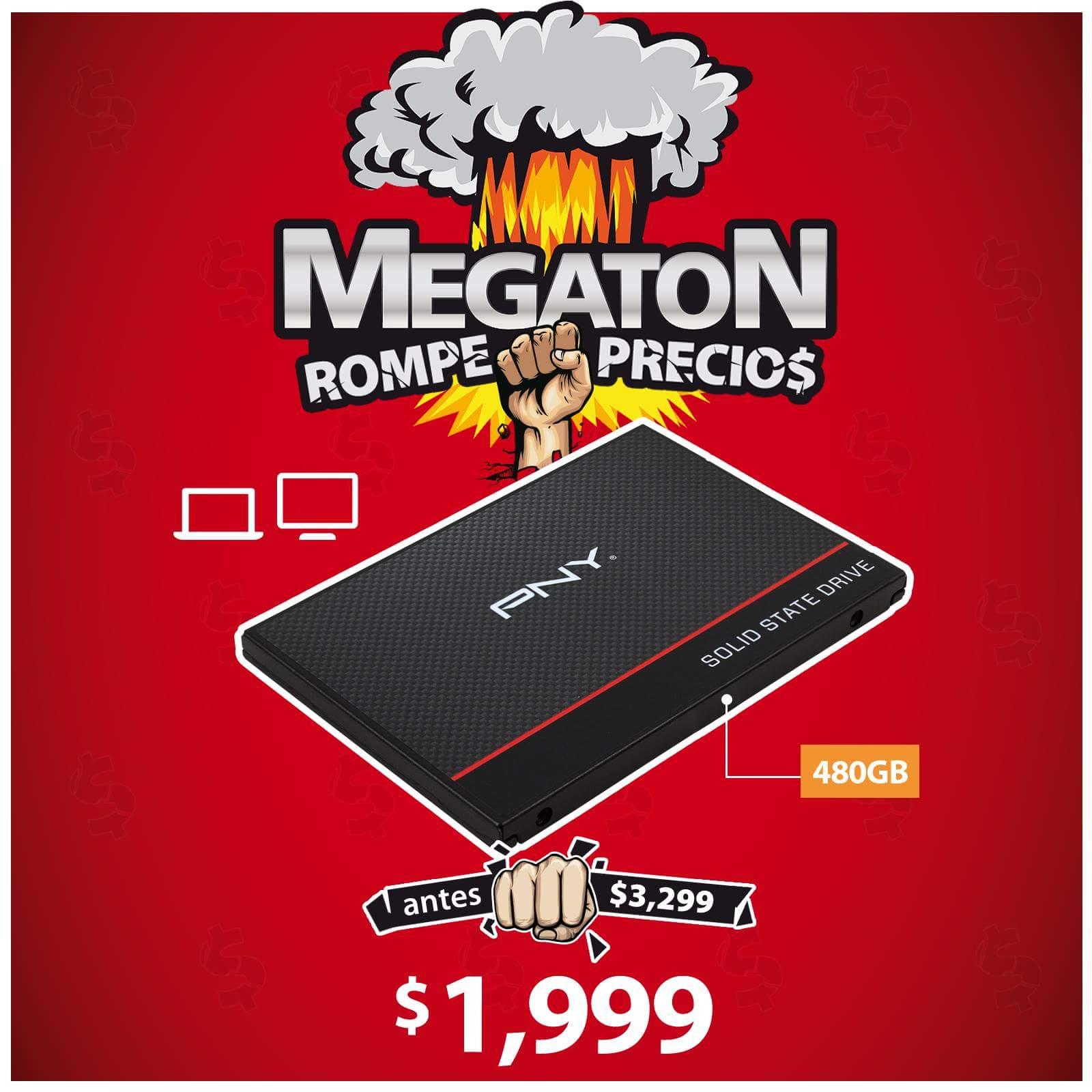 """PCEL: SSD PNY 480 GB, 2.5"""" SATA III (6Gb/s)."""