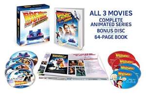Amazon Mx: Back to the Future: The Complete Adventures (Blu-ray + Digital HD)