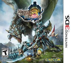 Amazon MX: Monster Hunter 3 Ultimate 3DS
